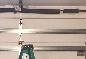 Spring Replacement Project | Garage Door Repair Fort Worth, TX